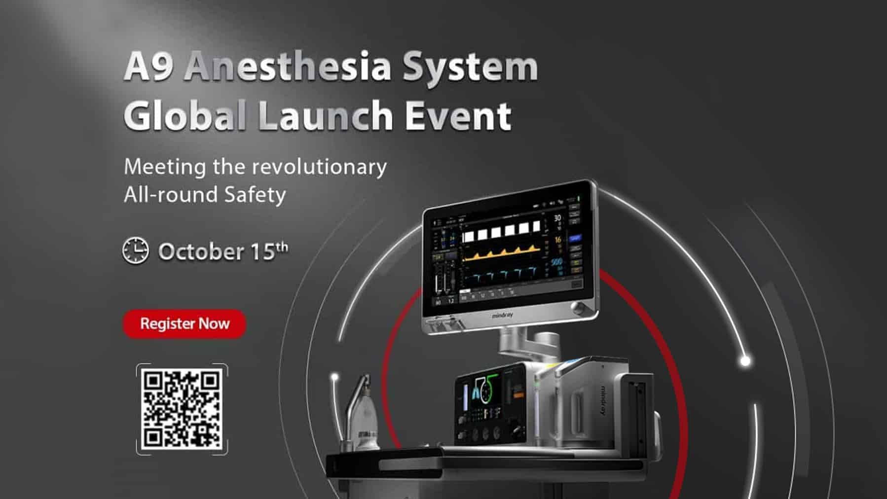 Mindray A9 Anesthesia System Global Launch Event
